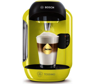 bosch tassimo lime green vivy tas1256gb coffee hot drinks. Black Bedroom Furniture Sets. Home Design Ideas