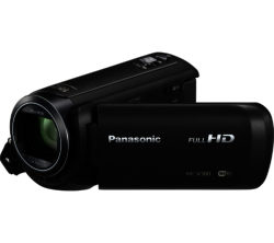 PANASONIC  HC-V380EB-K Traditional Camcorder - Black
