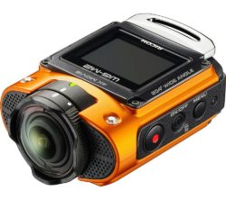 RICOH  WG-M2 Action Camcorder - Orange