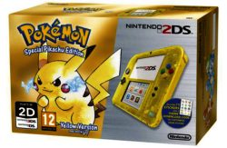 Nintendo 2DS Limited Edition Console: Pokemon Yellow