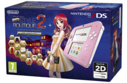 Nintendo 2DS Pink Console and New Style Boutique 2 Bundle