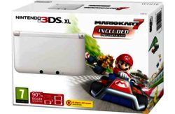 Nintendo 3DS XL Console and Mario Kart 7 Game Bundle