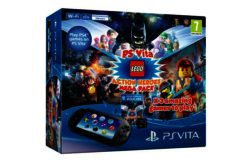 PS Vita Console and 3 LEGO Game Bundle