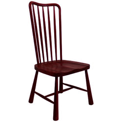 Hudson Living Wycombe Dining Chair Red