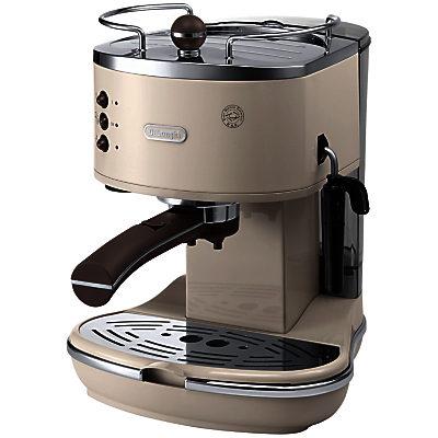 DeLonghi ECOV311.BG Vintage Icona Espresso Coffee Machine, Cream PriceHit