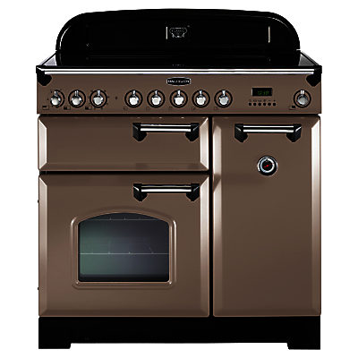 rangemaster classic deluxe 90 induction hob range cooker latte. Black Bedroom Furniture Sets. Home Design Ideas