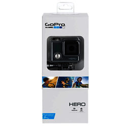 GoPro Hero Waterproof Camcorder, HD 1080p, 5MP
