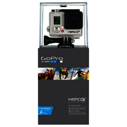 GoPro Hero3+: Silver Edition Camcorder, HD 1080p, 10MP, Wi-Fi