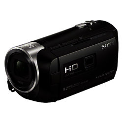 Sony PJ410 Handycam with Built-in Projector, HD 1080p, 2.29MP, 30x Optical Zoom, Wi-Fi, NFC